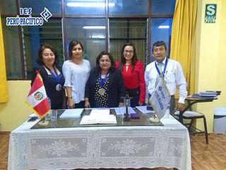 Sustentacion de tesina de alumnas de Adm. de Negocios Internacionales